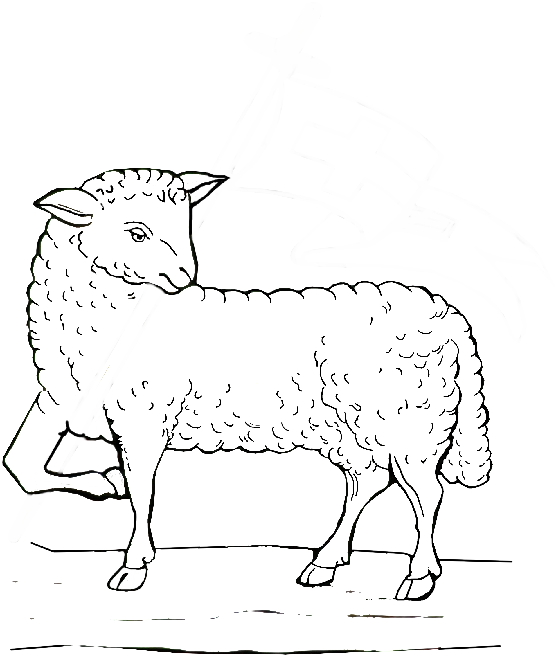 Free Good Shepherd Coloring Pages Free, Download Free Clip Art ... | 2256x1915