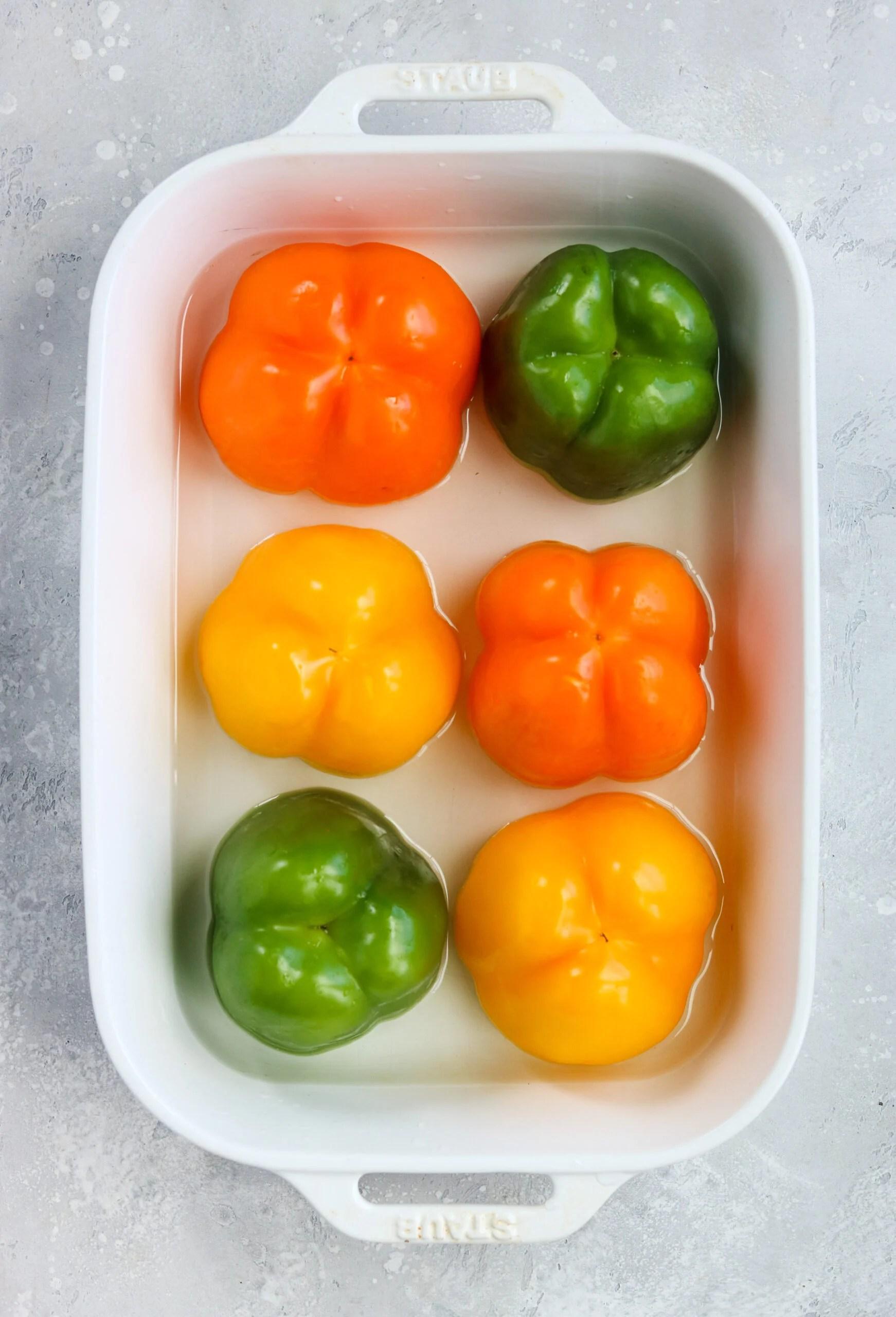 whole30 taco stuffed peppers