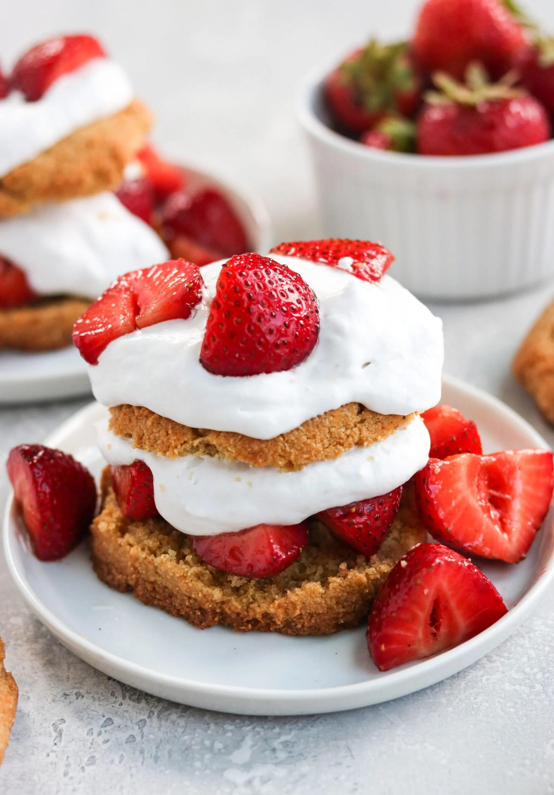 Paleo Strawberry Shortcake (Gluten Free)