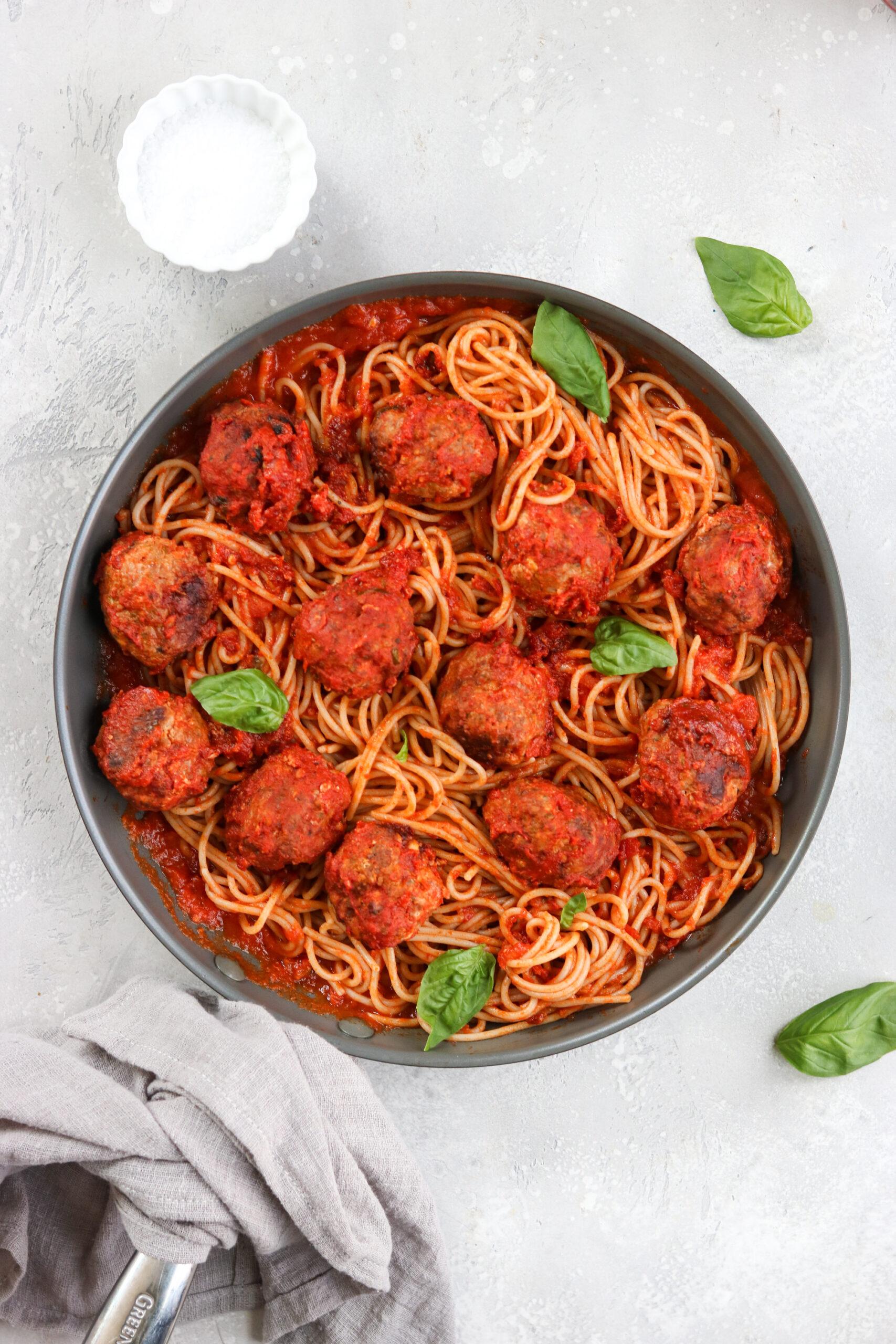 Gluten Free Italian Meatballs and Marinara