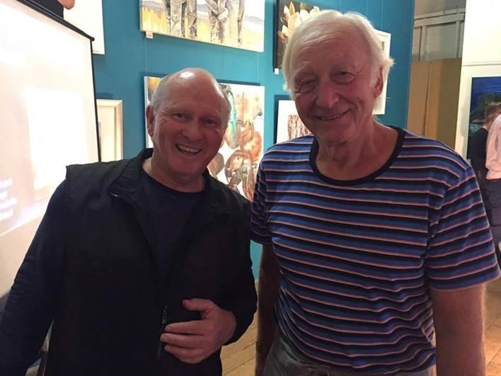 Sponsor Ron Jeffery with 3D winner Vit Martinek