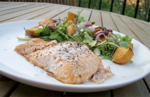 this is actually salmon, but you get the picture.