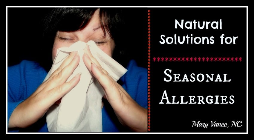 Natural Solutions for Seasonal Allergies