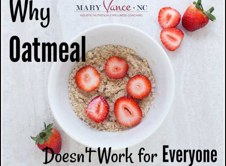 The Oatmeal Myth: Why Oatmeal Doesn't Work for Everyone