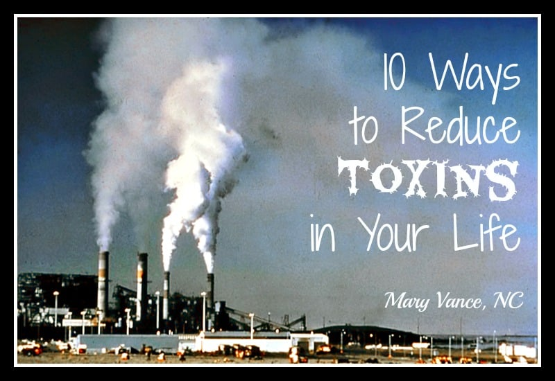 10 Ways to Reduce the Toxins in Your Life