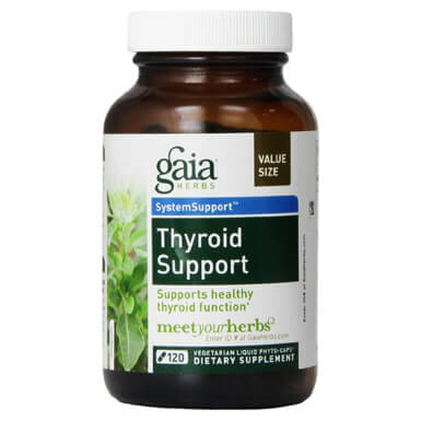 Gaia Herbs Thyroid Support
