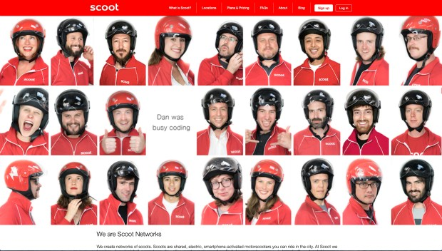 Scoot Networks headshots