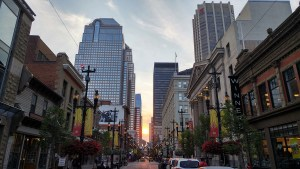 Calgary Street Shot