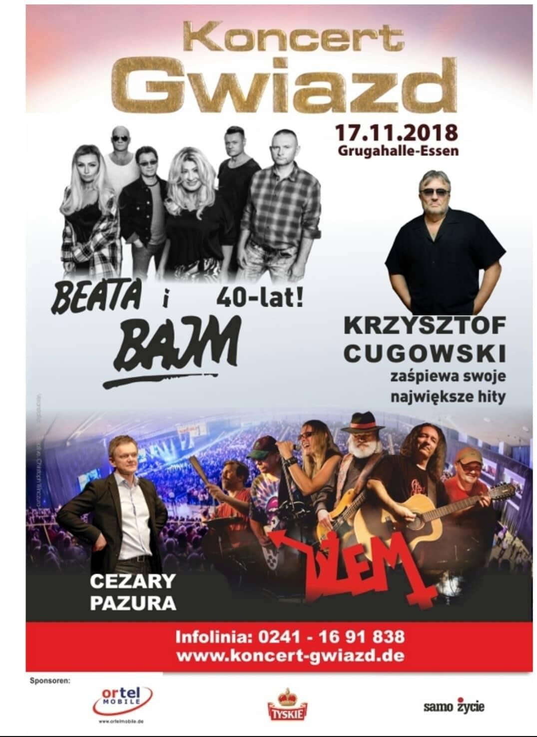 Konzert Gwiazd Essen