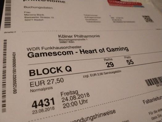 Gamescom - Kölner Philharmonie