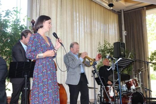 Ellington Trio Jazz - Barbara Barth mit Band und Gästen - Klaus Osterloh und Steffen Thormählen