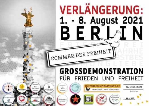 1. August Grossdemo Berlin