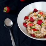 Strawberry risotto /Risotto alle fragole