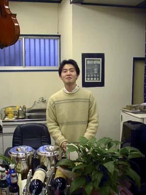 久多良木珈琲の久多良木さん