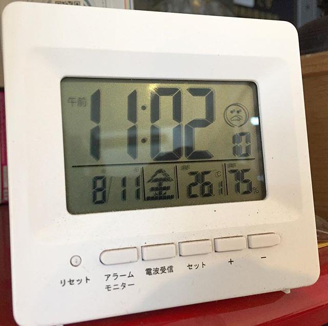 気温は良いけど、湿度が高くなって来てるのでツライ。#masasfactory
