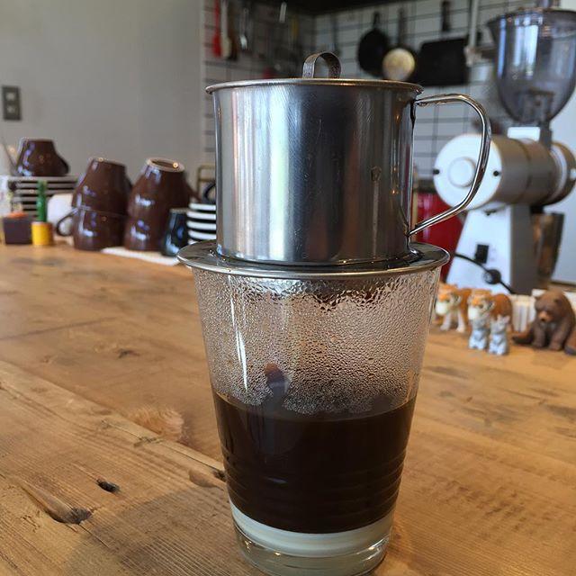 のんびりとベトナムコーヒー#masasfactory
