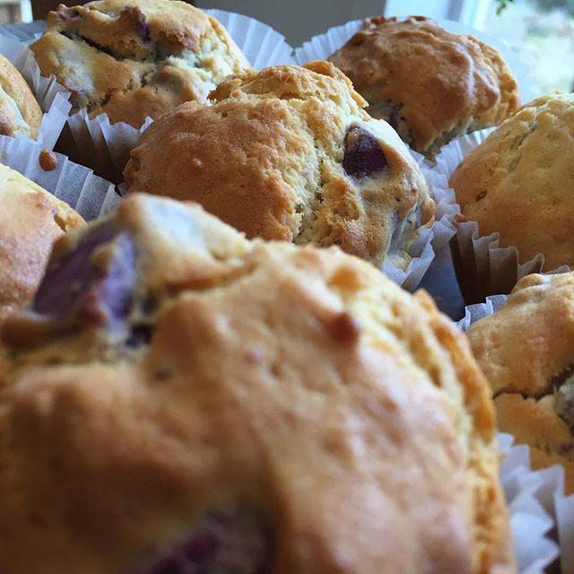 今日は紫芋のマフィン。#masasfactory