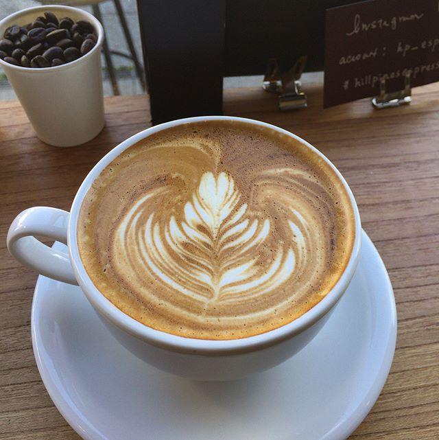 つぎは川越大正浪漫通りのHILL PINE'S ESPRESSO さん#hillpinesespresso
