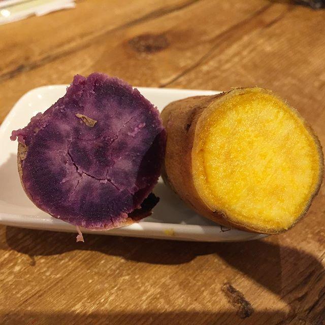 マロンゴールドvs種子島紫芋