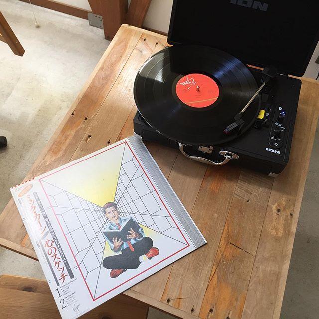 お手軽にレコードが聴けて、なかなか便利。