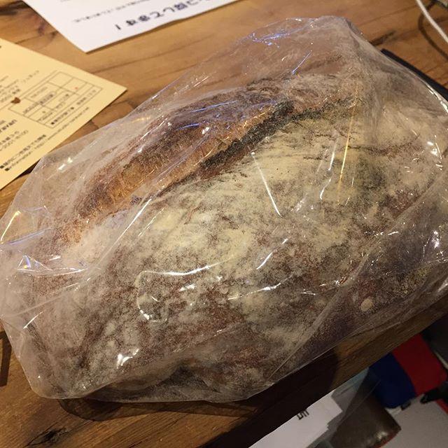 そろそろ美味しいパンを食べたいと思ってたんだよ。  そしたら届いたよ。
