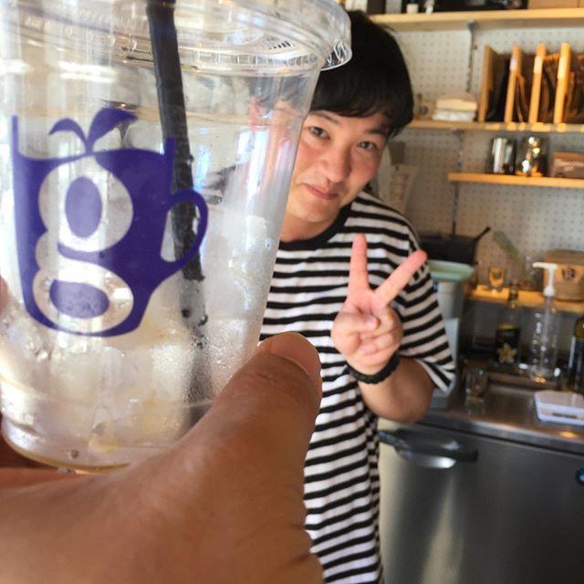 今日の現実逃避 。  glin coffeeとcoffee post。  そろそろ現実を受け入れます。