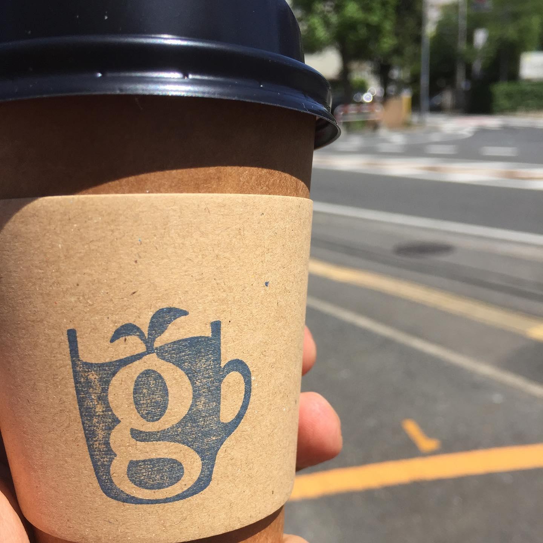 @glincoffee glin coffee 行って @hoshino.oooo ほっしーに会って来た。
