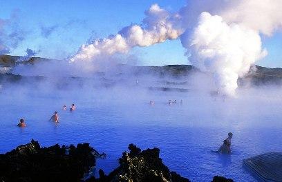 הלגונה הכחולה - איסלנד