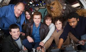 first look of han solo spinoff movie