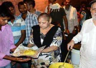 man sell his property to feed poor