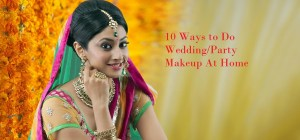 how to do wedding makeup at home