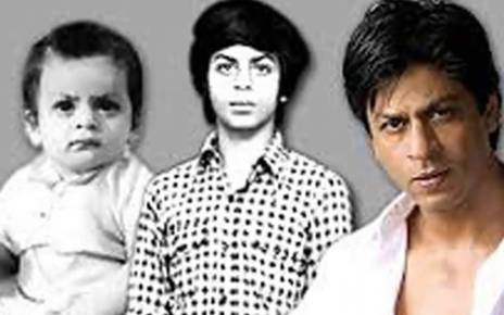 shahrukh khan childhood images