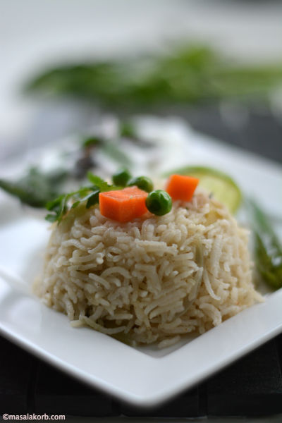 Vegetable Pulav 2