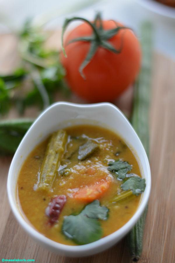 sambarV2 Mixed Vegetable Sambar