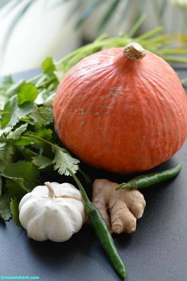 Pumpkin/Kurbis with veggies