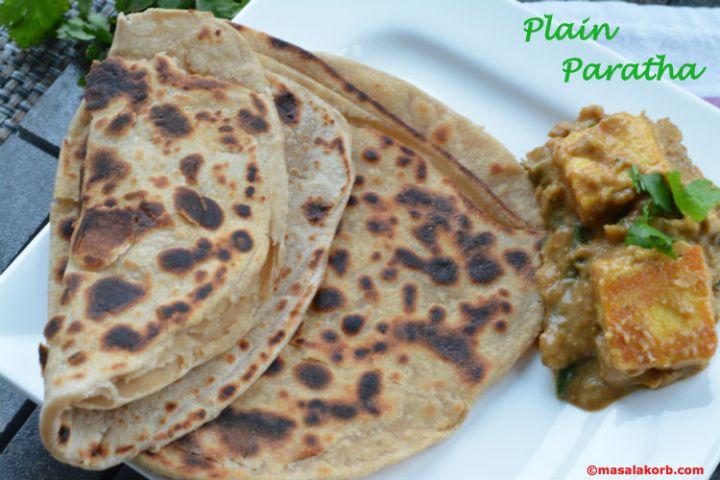 Plain paratha