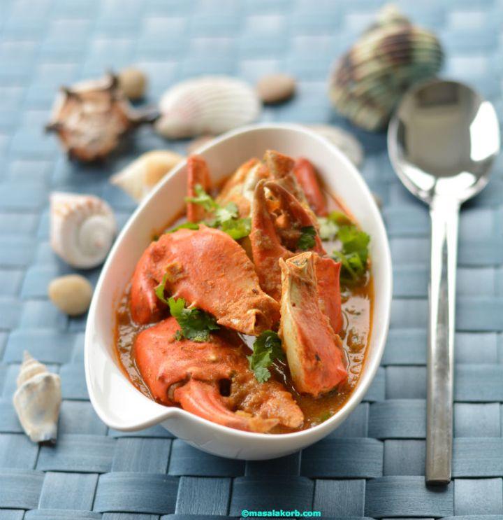 crab curry V3 Crab Curry or Peethala Iguru