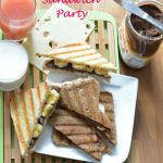 Nutella Sandwich Party