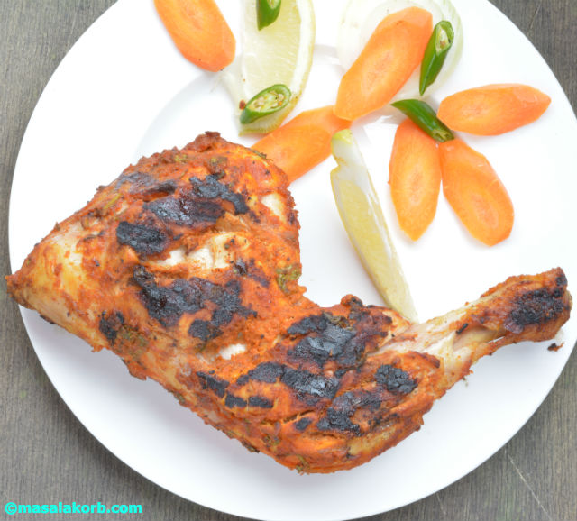 Tandoori ChickenV3 Tandoori chicken with Mint Coriander relish