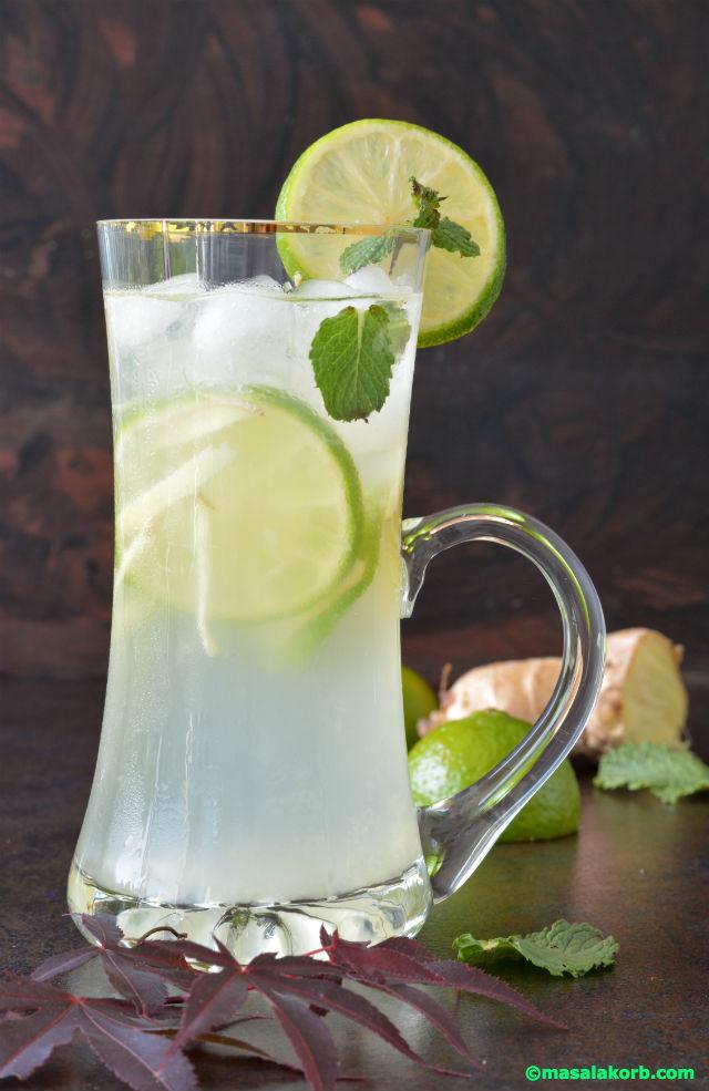 Ginger Lemonade V4