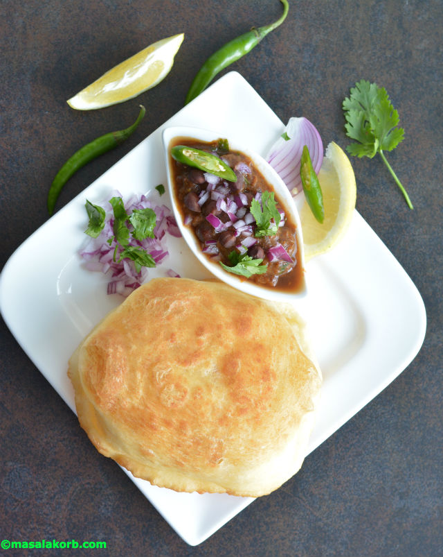 Bhatura recipe without yeast V4