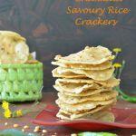 Chakkalu-Savoury Rice Crackers