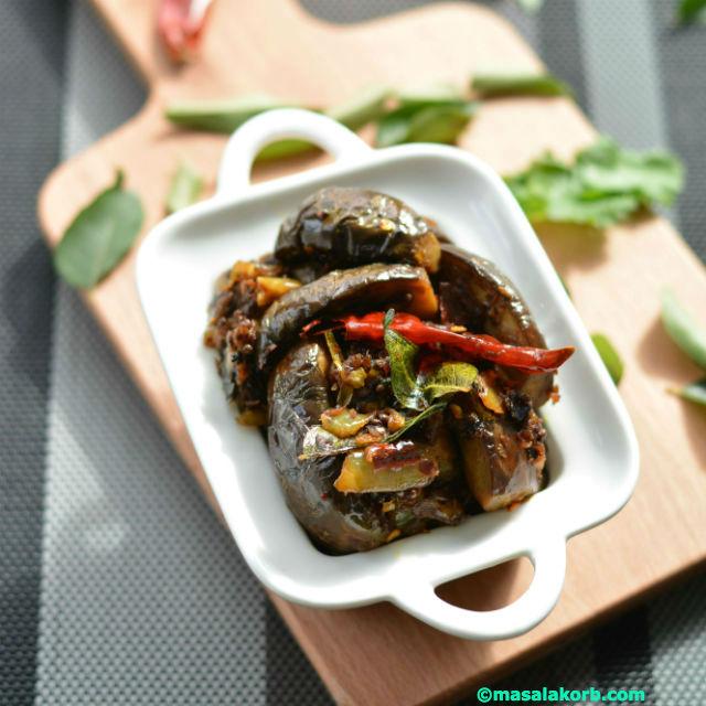 Brinjal Fry Andhra Style V3