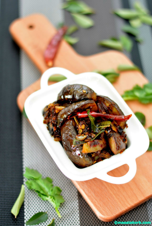 Brinjal Fry Andhra Style