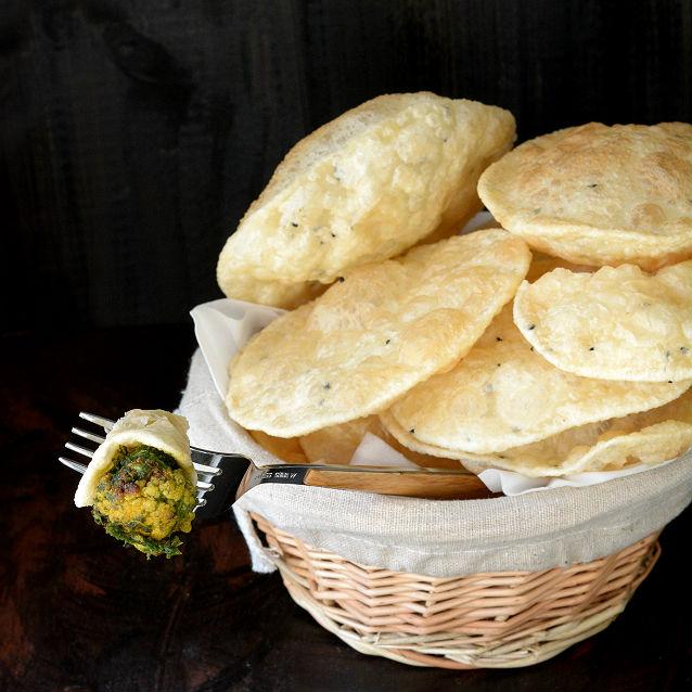 Bengali Luchi Recipe V7