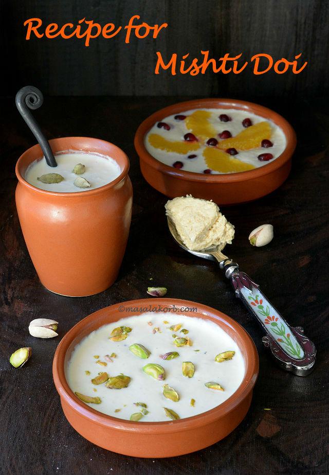 Recipe for mishti doi bengali sweet yoghurt masalakorb recipe for mishti doi vif forumfinder Gallery