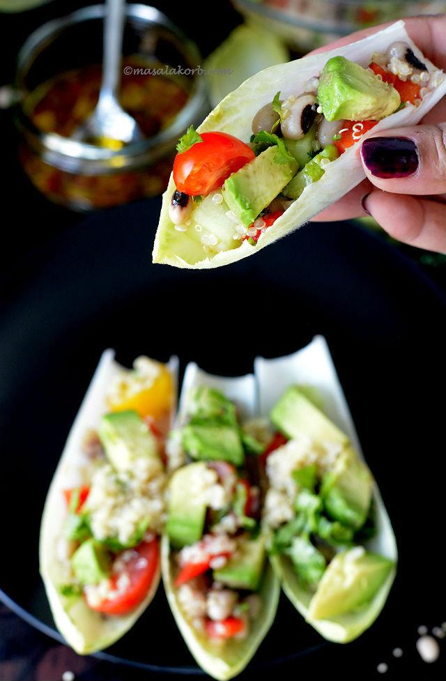 Black Eyed Pea Quinoa Salad