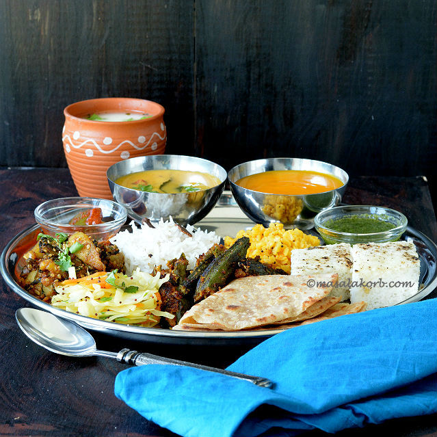 Gujarati Summer Thali