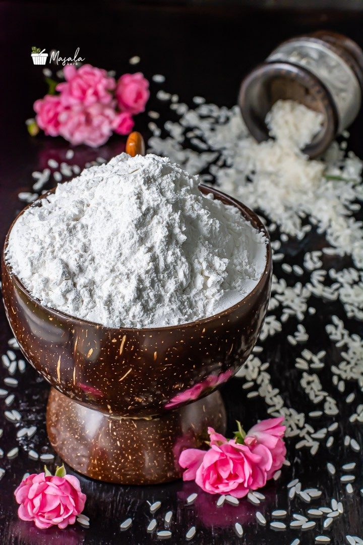 how to prepare rice flour at home