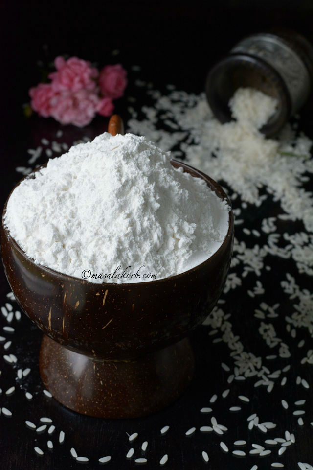 How to prepare rice flour at home V5
